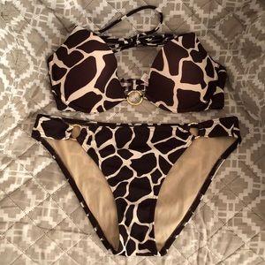 Victoria's Secret Giraffe Print Bikini